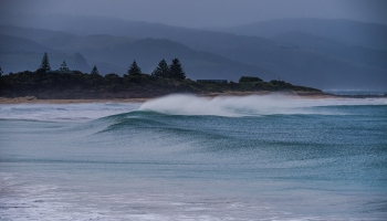 Storm swell along Great Ocean Road