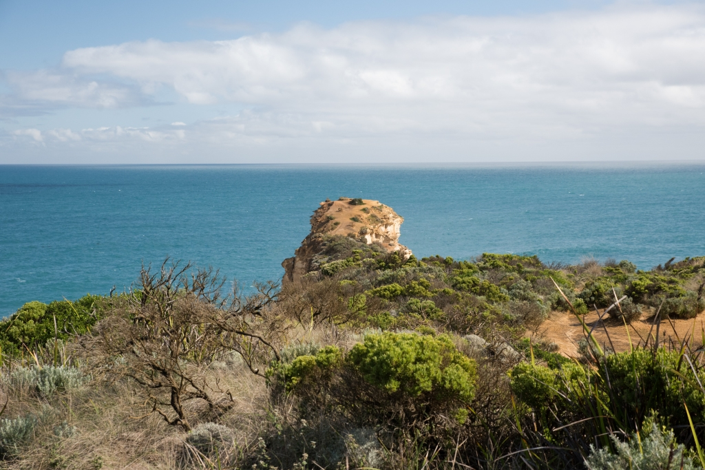Narrow headland near Twelve Apostles