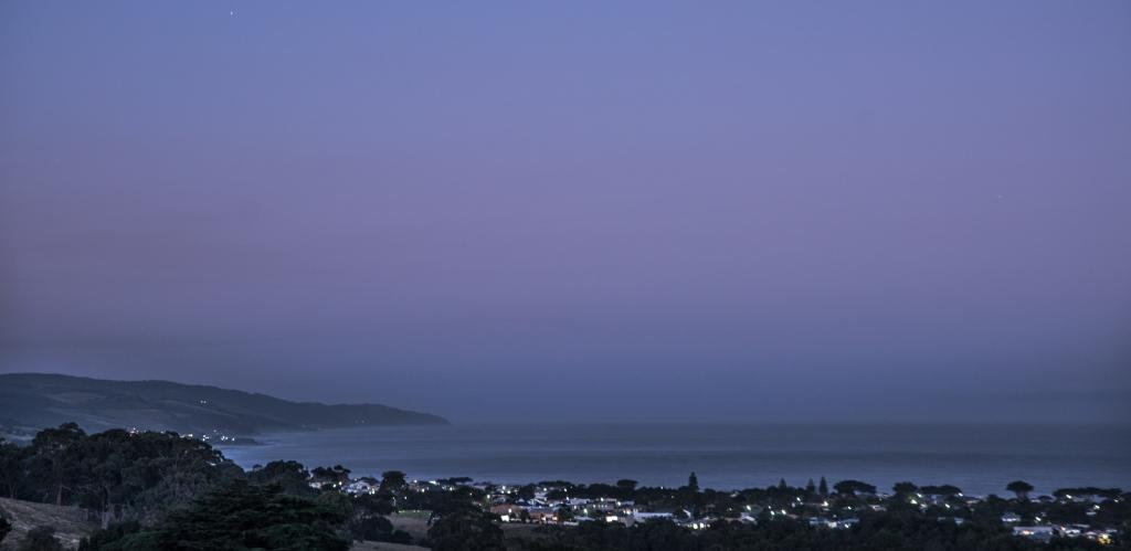 Easter twilight over Apollo Bay
