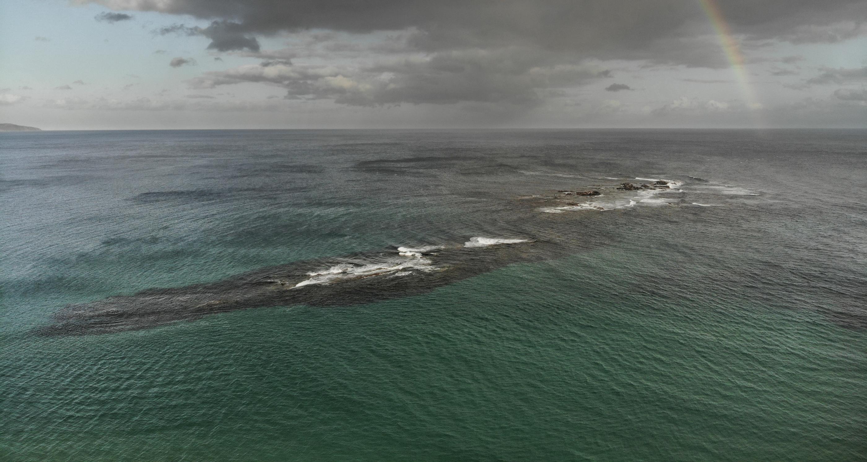 Little Henty Reef from drone