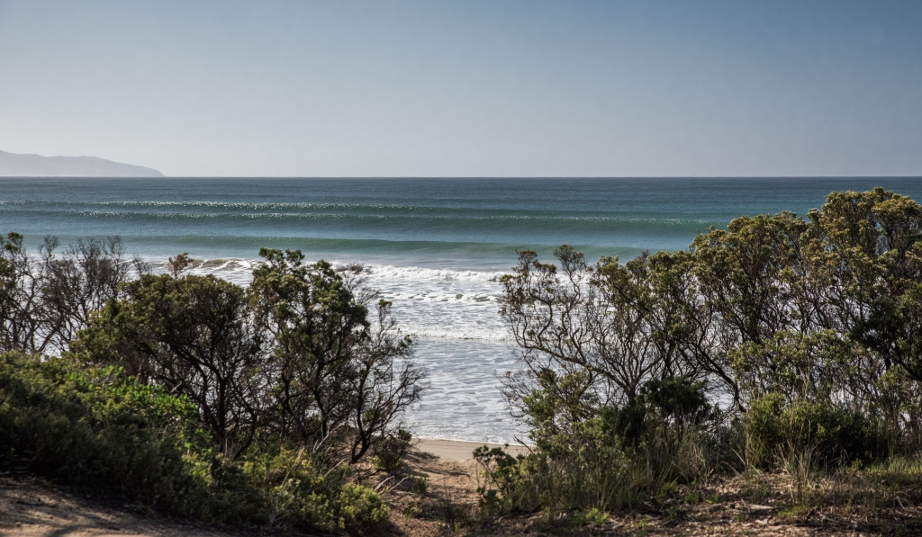 Clean swell at Apollo Bay
