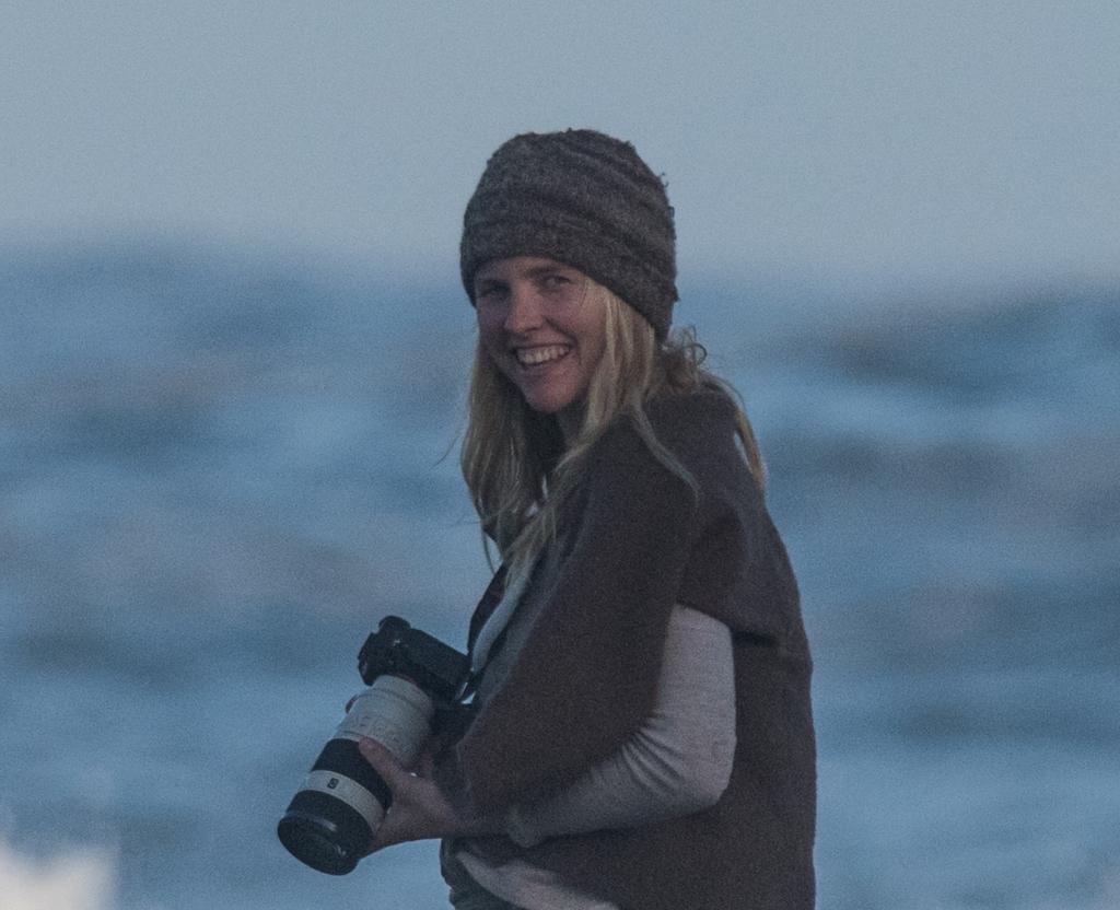 Surf photographer Katey
