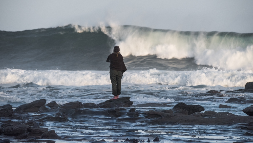 Surf photographer at Marengo