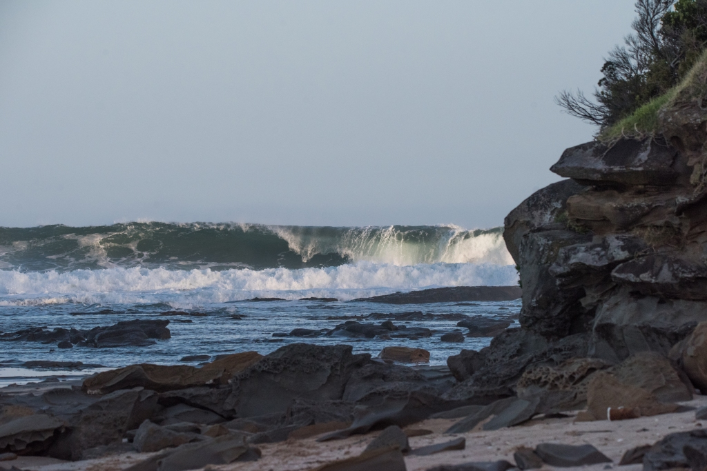Big waves at Marengo