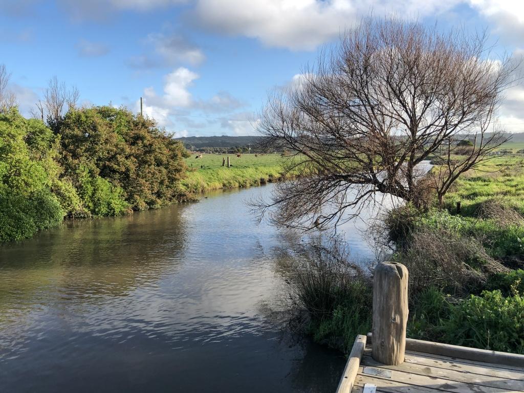 Barham River at Apollo Bay