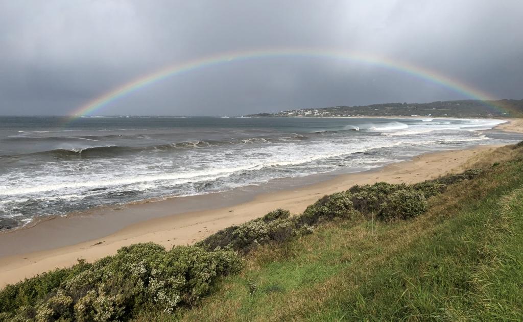 Rainbow over Marengo