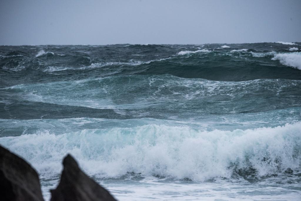 Ocean in a gale