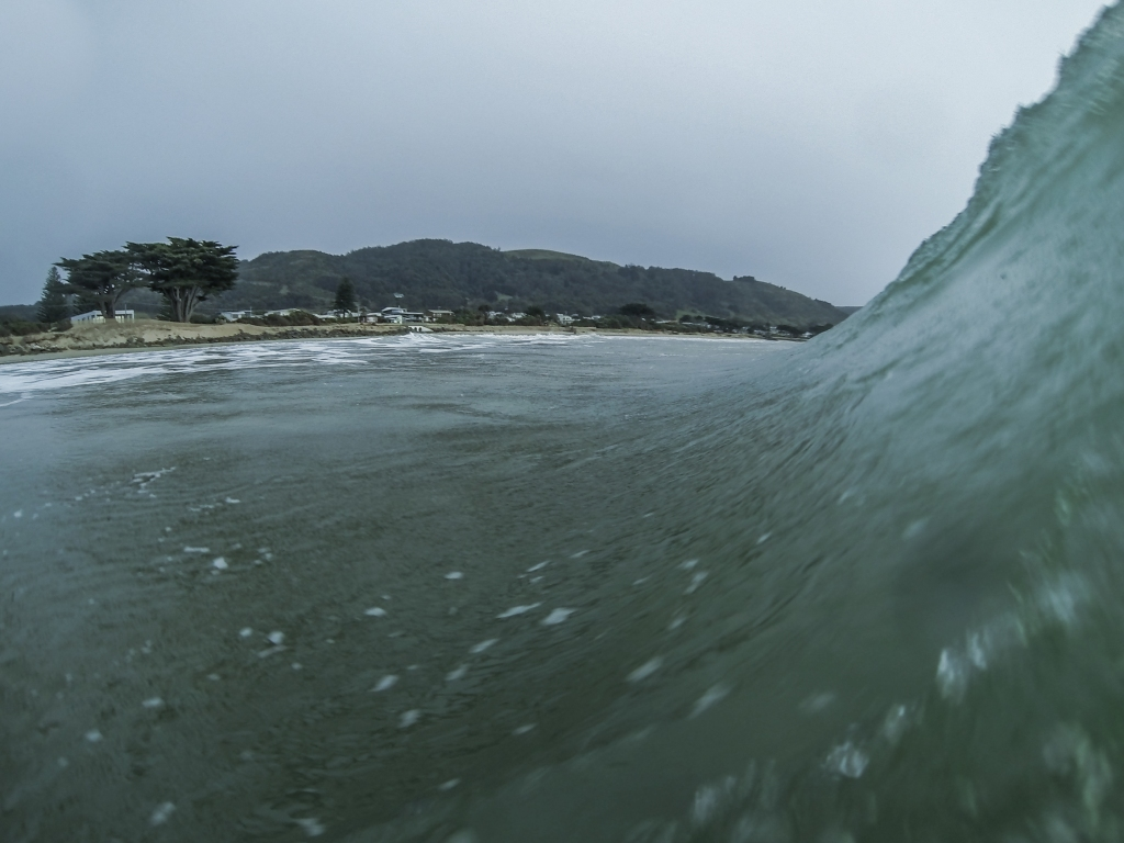 GoPro photo in the surf