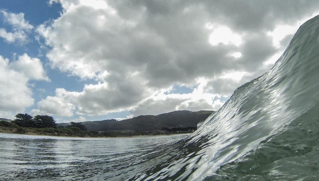 GoPro photo taken in the surf