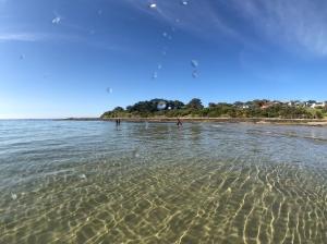 Clear ocean water at Marengo