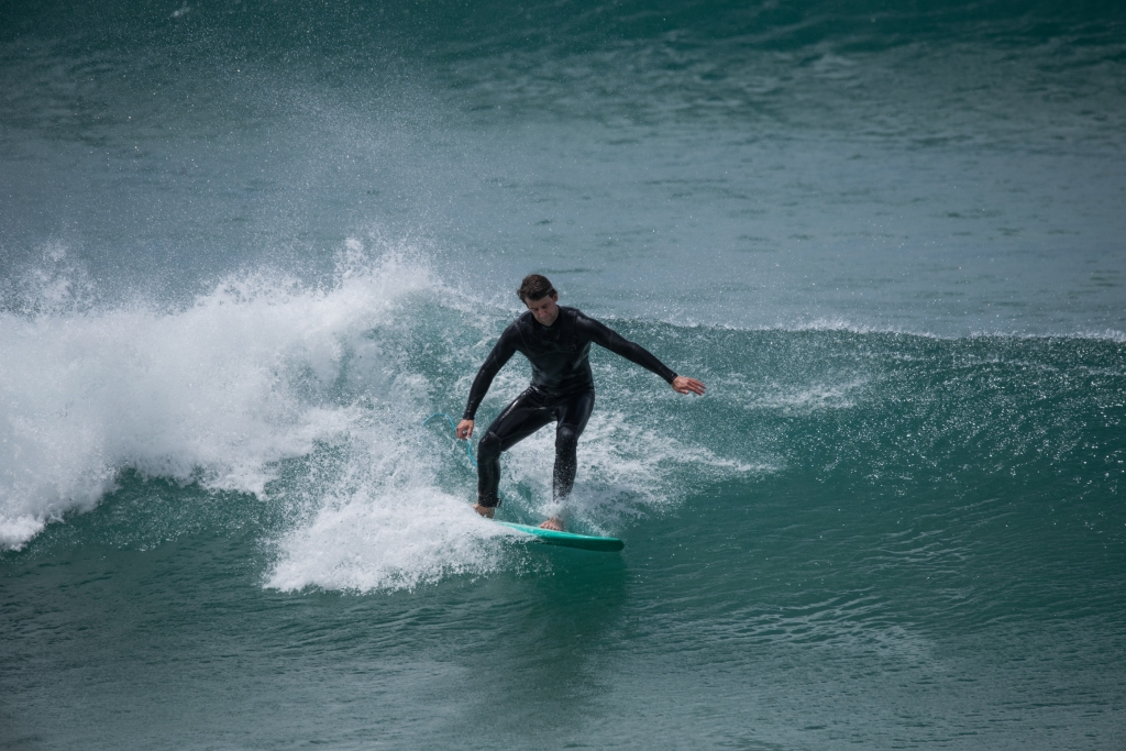 Surfer at Apollo Bay