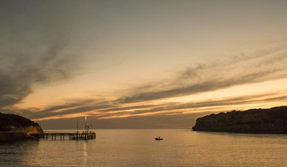 Port Campbell bay calm