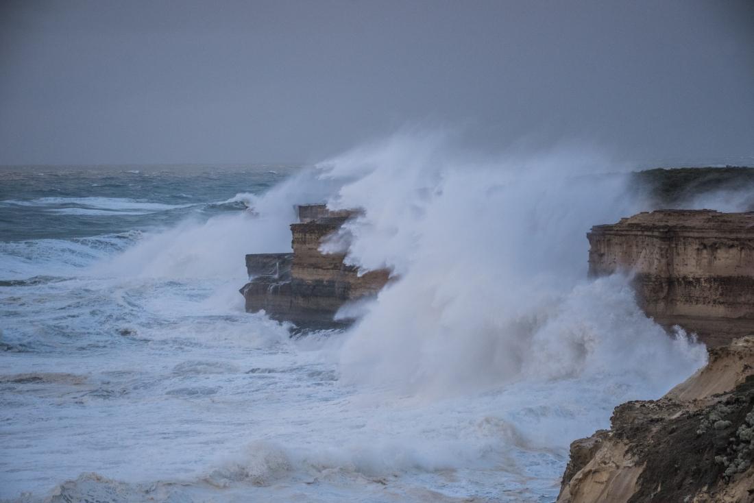Storm Surf Twelve Apostles National Park