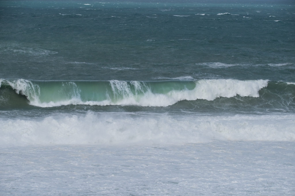 Storm surf at Two Mile