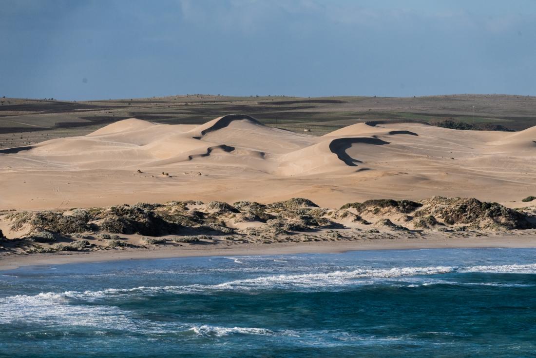 Sheringa beach sand dunes Eyre Peninsula